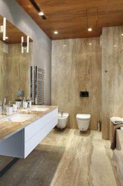 欧式小户型卫浴马赛克墙面设计效果图_装修123效果图图片