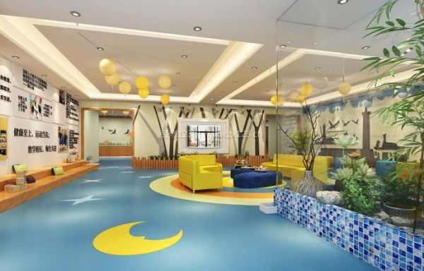 幼儿园作品展示墙图片业墙边框设计图片展示