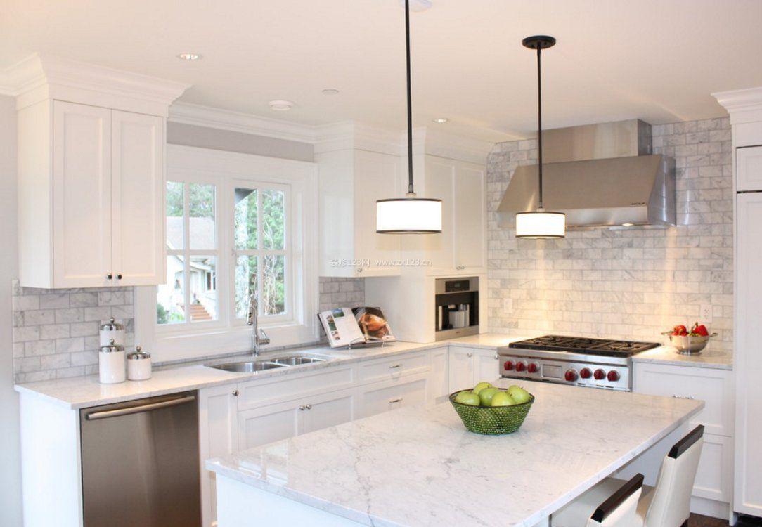 201极简风格家庭厨房设计厨具图片_装修123效果图