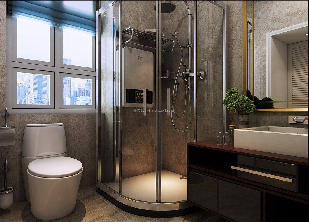 2017整体淋浴房玻璃浴室装修设计效果图片