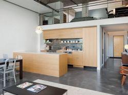 2017復式樓一樓整體廚房平面圖