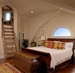 2020室内木制阁楼楼梯图片-装信通网效果图大全