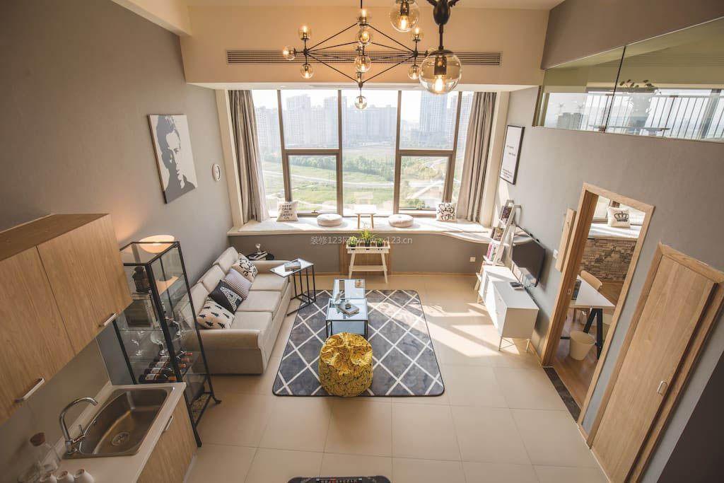 2017房屋室内整体装潢设计俯视效果图