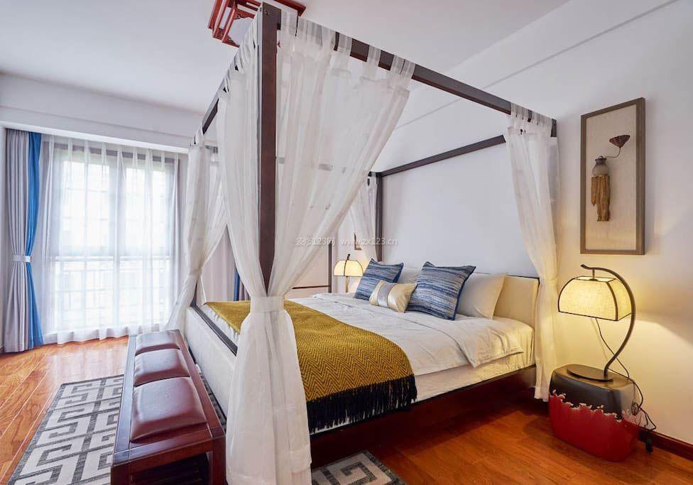 2017面的室内四柱床房屋设计图v面的matlab绘制曲装潢方法图片