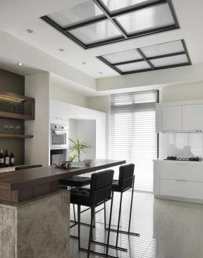 2018厨房简单设置小吧台设计图