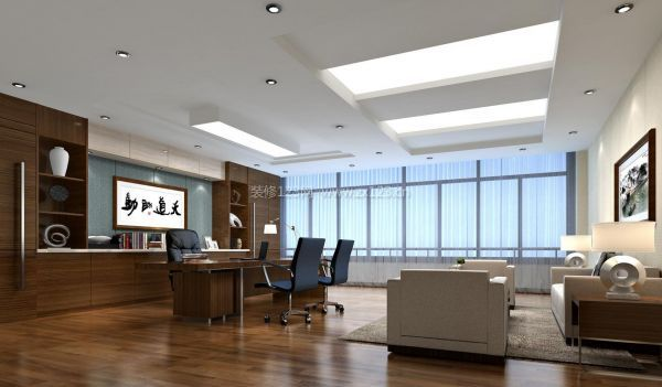 办公室装修设计如何选择墙面颜色?