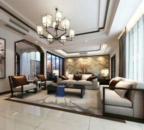 新中式风格客厅图片 客厅沙发背景墙装饰