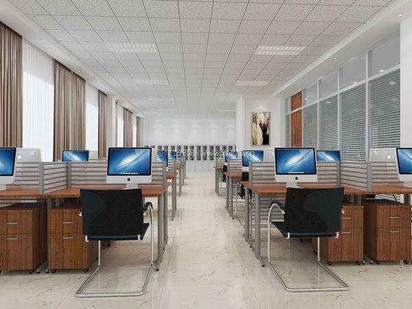办公楼办公室吊顶设计装修效果图片