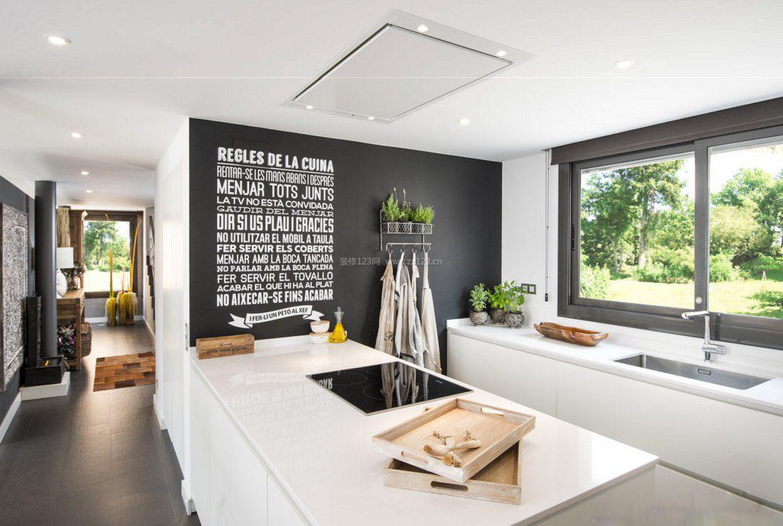 家装效果图 北欧 2017北欧风格厨房背景墙装饰图片 提供者:   ←图片