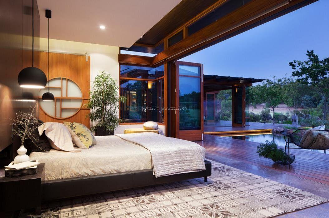 125平米房子主卧室装修图
