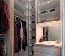 125个平米的房屋鞋柜设计图