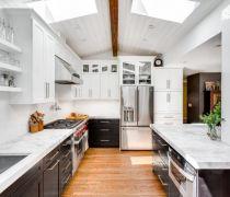 125个平米的房屋厨房吊顶设计图