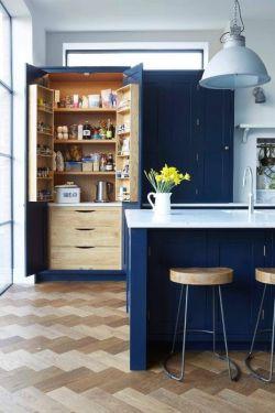 125平米房子廚房櫥柜顏色裝修圖
