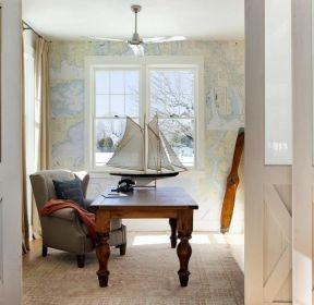 125平米房子家庭辦公室書桌裝修圖-每日推薦