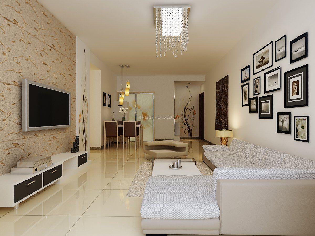 80平米的房子简单客厅设计图