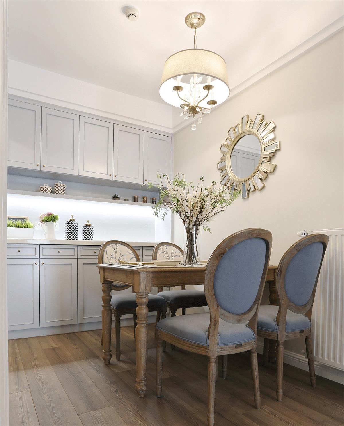 2018年法式小户型厨房地板设计图_装修123效果图图片