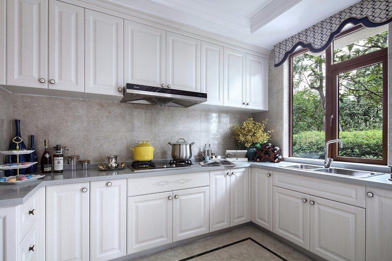 2018法式厨房窗户设计图图片