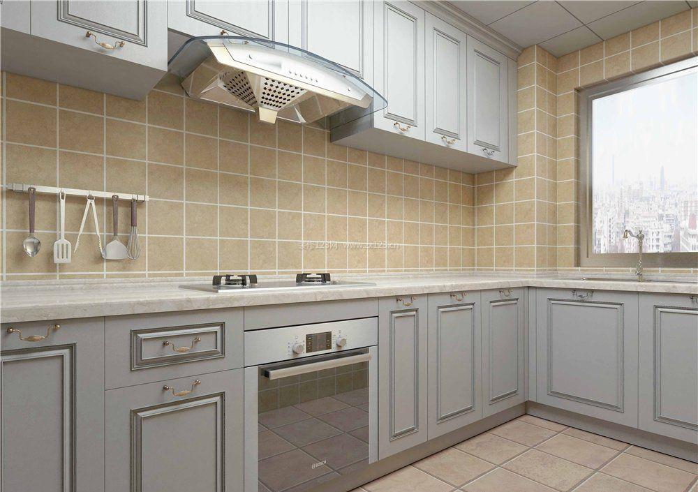 2018法式厨房厨具装修设计图
