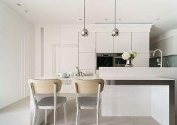 2018年法式廚房白色裝飾設計圖