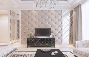 2018室内装修客厅电视背景墙-装修123网效果图大全
