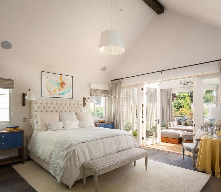 2020别墅卧室阳台阳光房设计装修