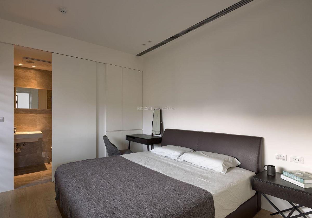 103平米房子卧室卫生间简单装修效果图