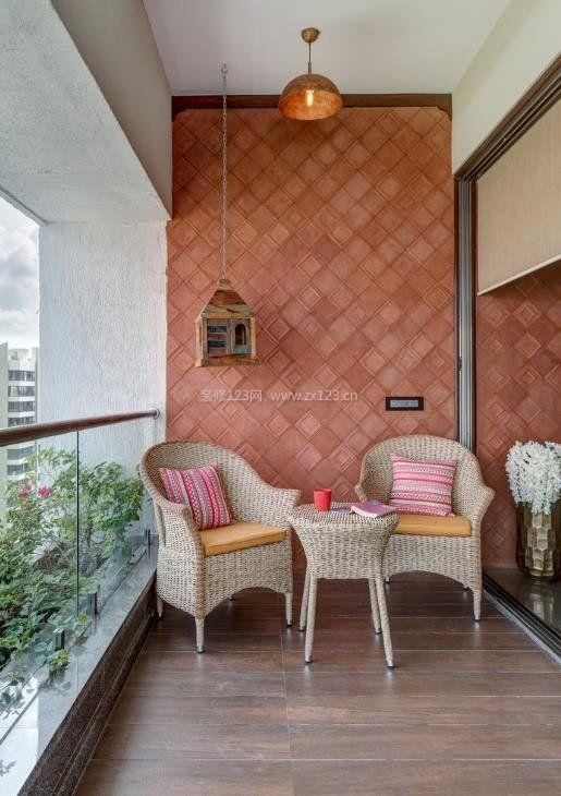 40平米阳台装修阳光房设计图展示