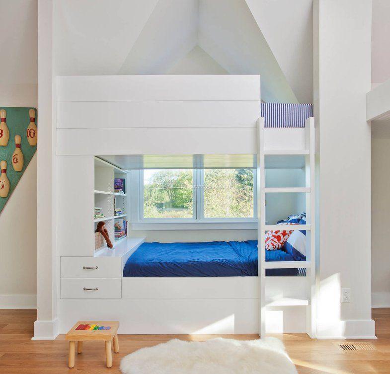 儿童房高低床图片_儿童房高低床设计图