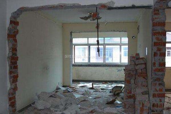 新房装修打墙注意事项 装修打墙费用怎么算