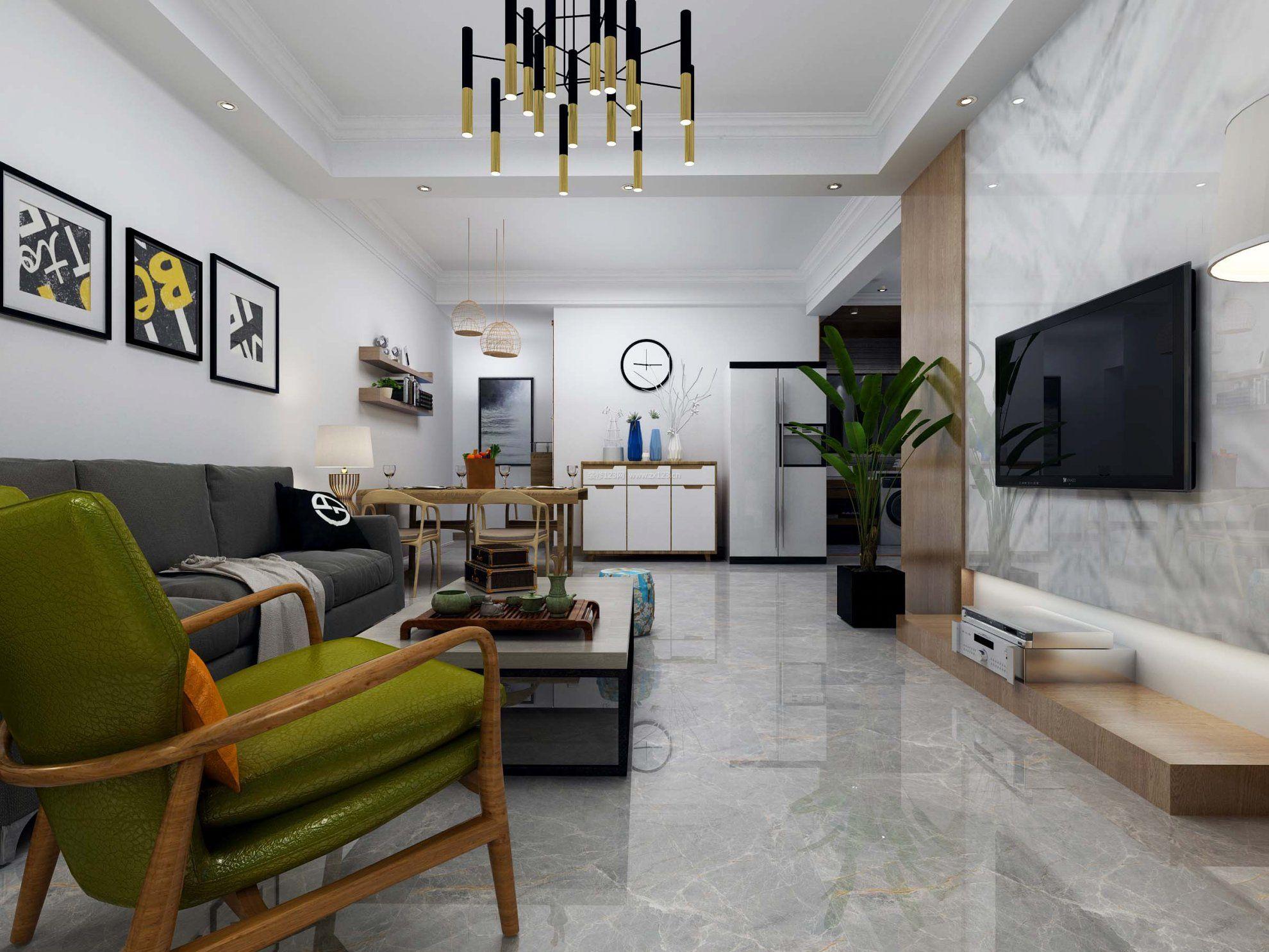 房间布局客厅家具摆放设计图片