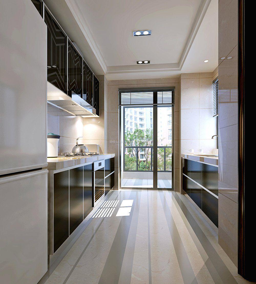 2018厨房布局设计装修效果图大全