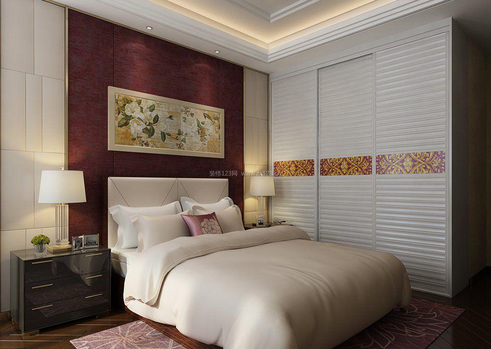 卧室家具顶固衣柜设计图2018