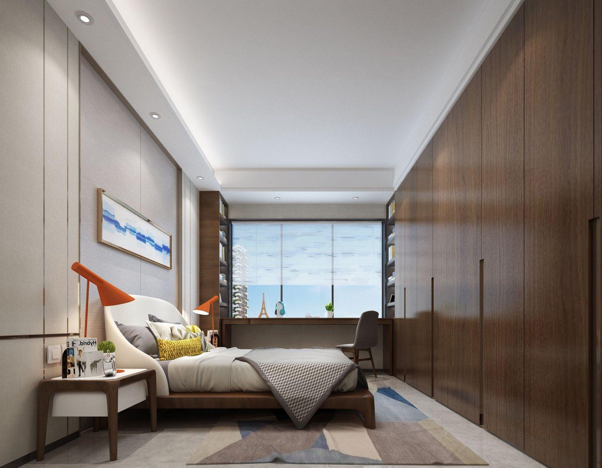 20平米卧室整体衣柜布置欣赏