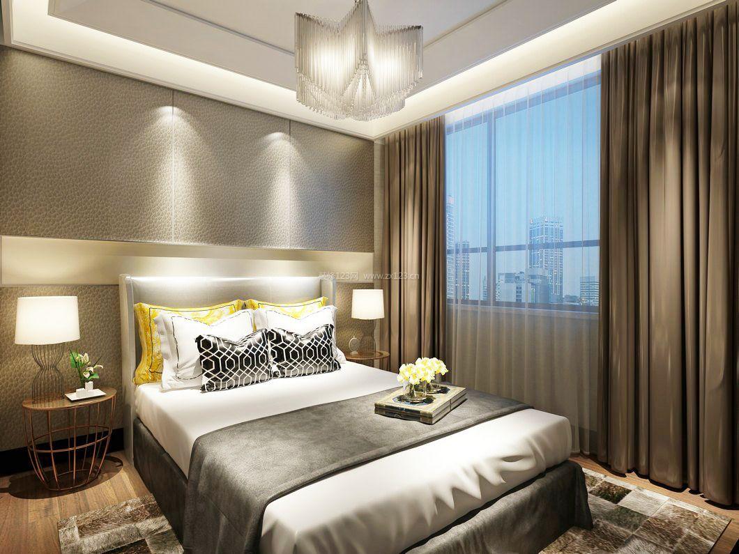 20平米卧室床头布置造型设计图片