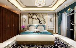 别墅*床头背景墙装修效果图