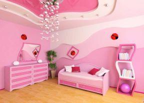 粉紅色裝修圖