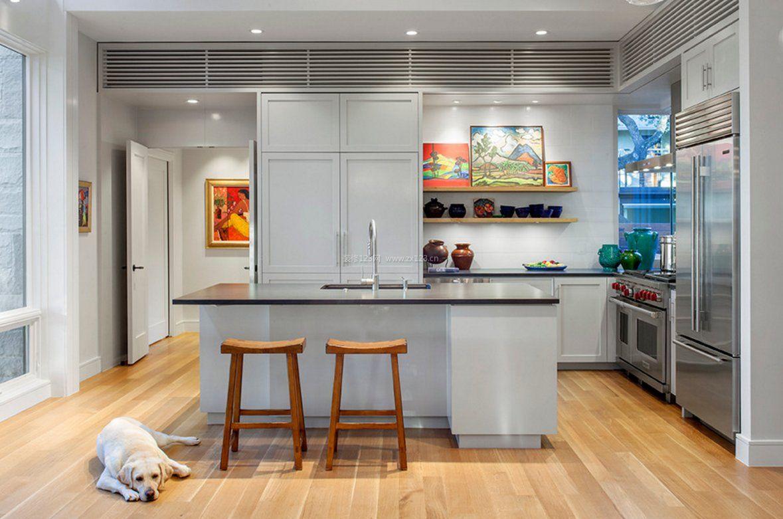 2018室内装修开放式厨房样板间