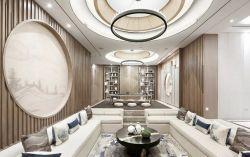 新中式別墅復古茶室設計