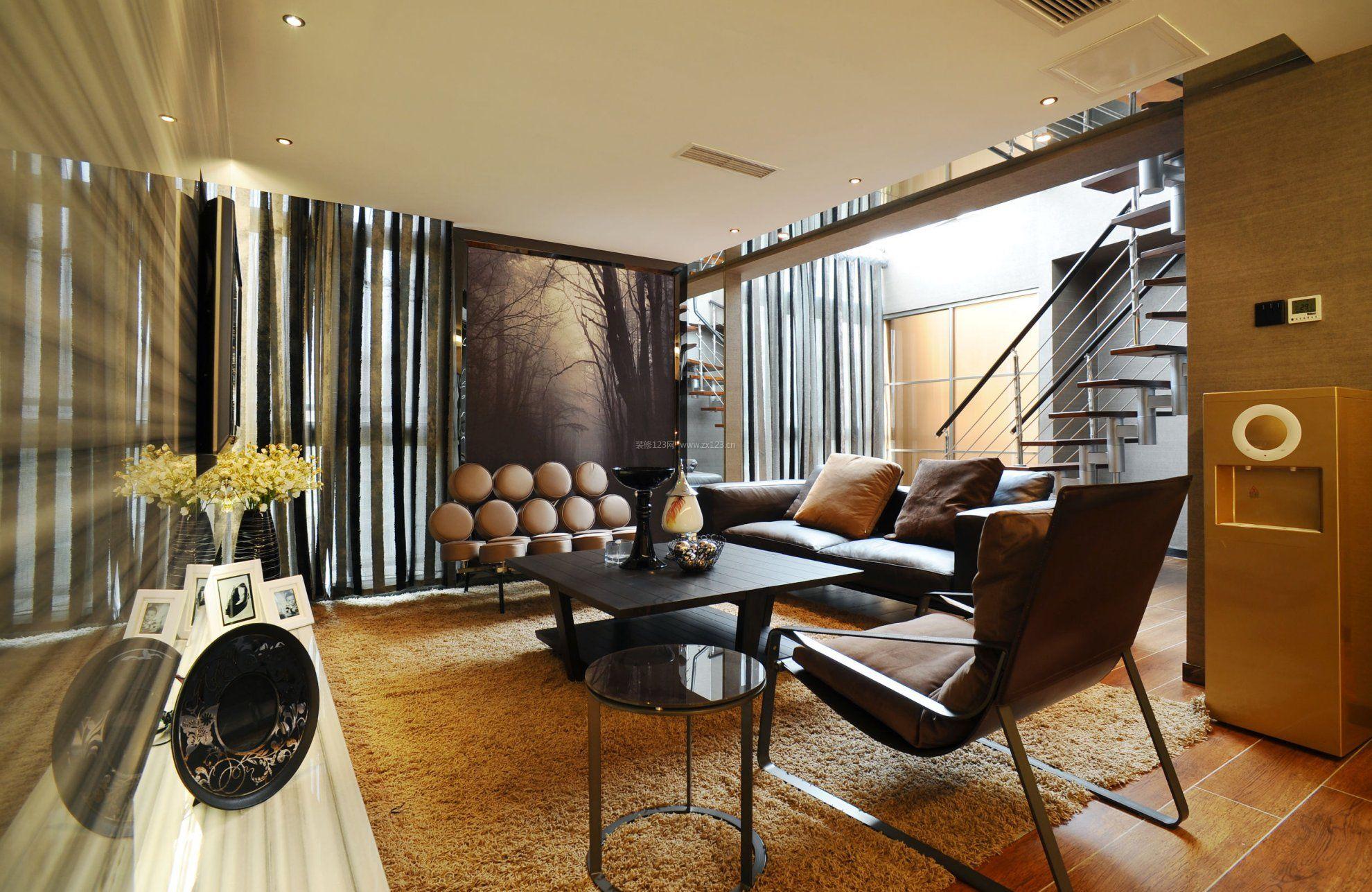 白领公寓复式装修设计图片赏析