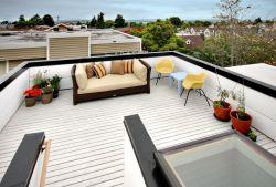 露台贴砖效果图 顶楼