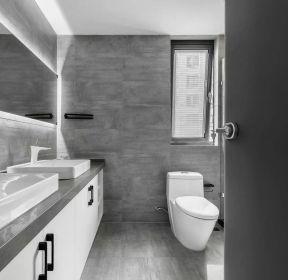 2020简约居家卫生间浴室柜装修-每日推荐
