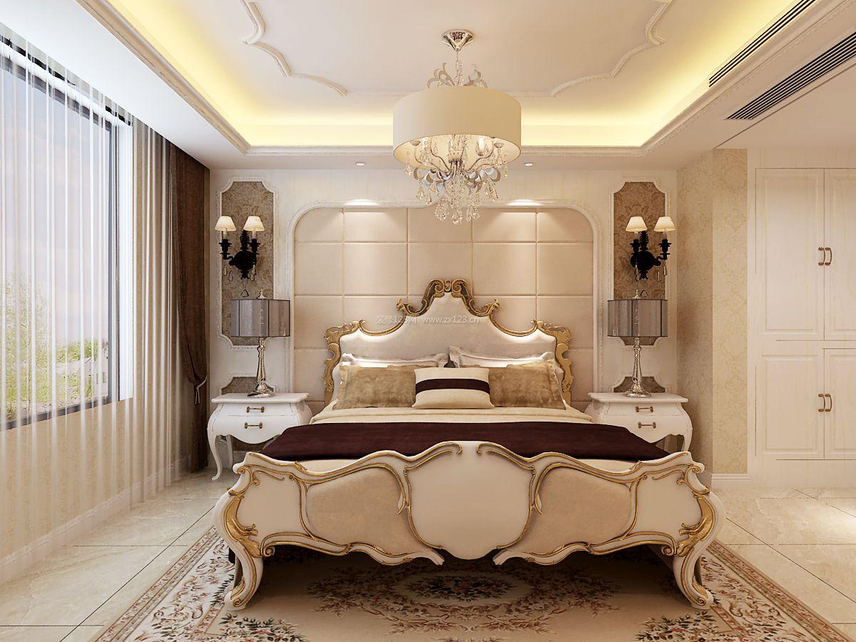 2018简欧风格卧室装修设计 2018床头壁灯装修效果图