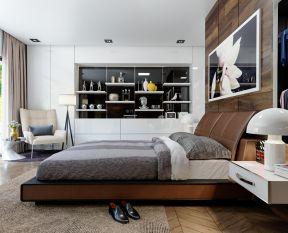 现代北欧风格装修效果图片 2018主卧室装修图片效果图图片