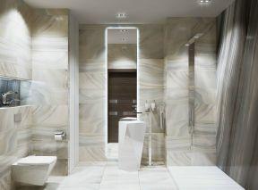 2018卫生间墙面白色瓷砖图片