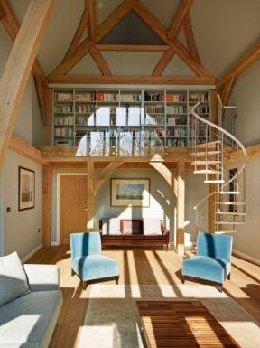小复式旋转楼梯图片