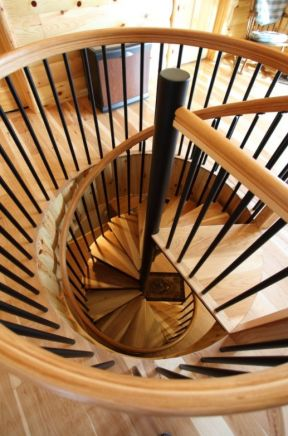 2018小复式旋转楼梯设计图片大全图片
