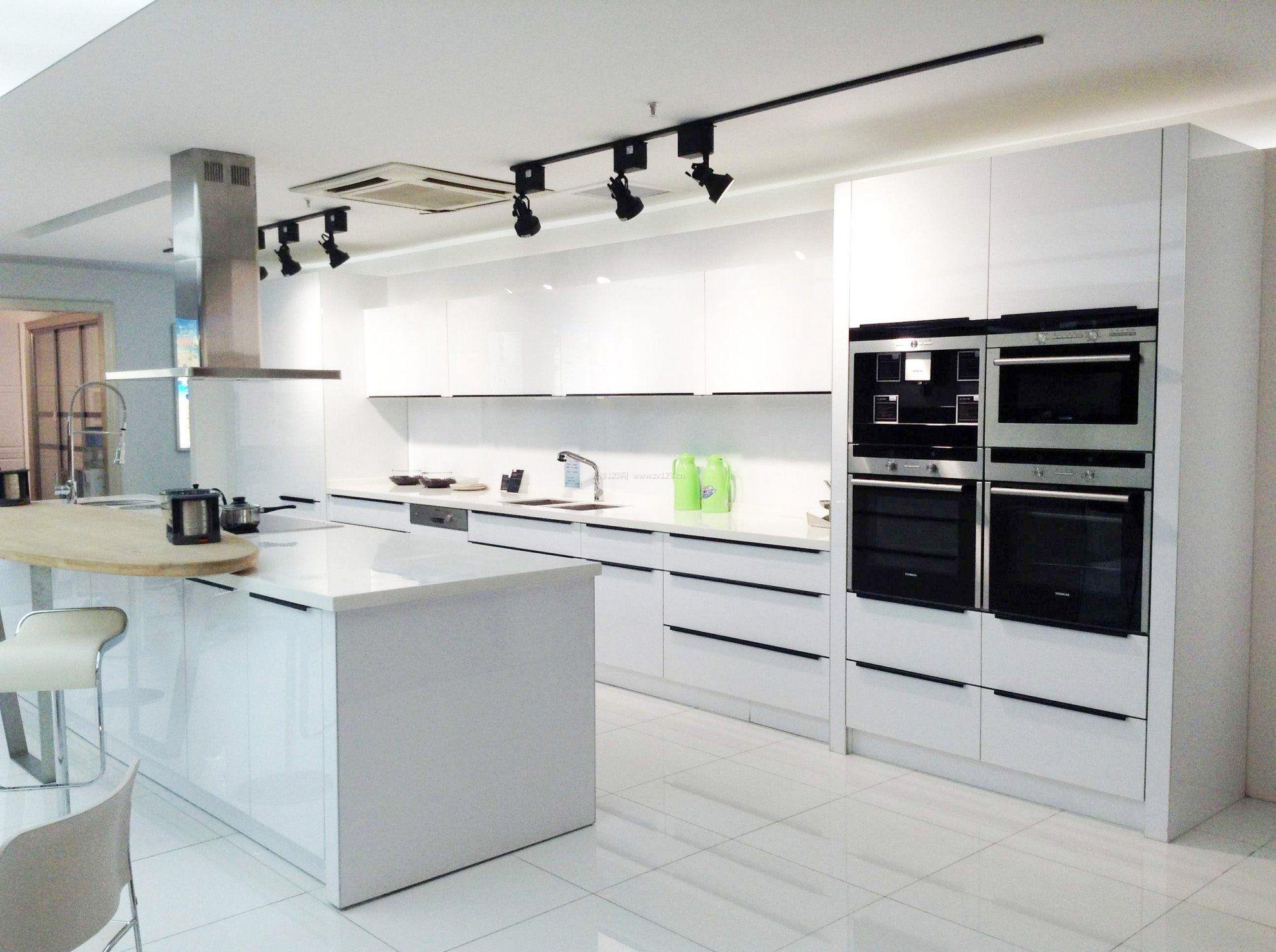 2018现代烤漆室内名片家居厨房旅游公司橱柜设计素材图片