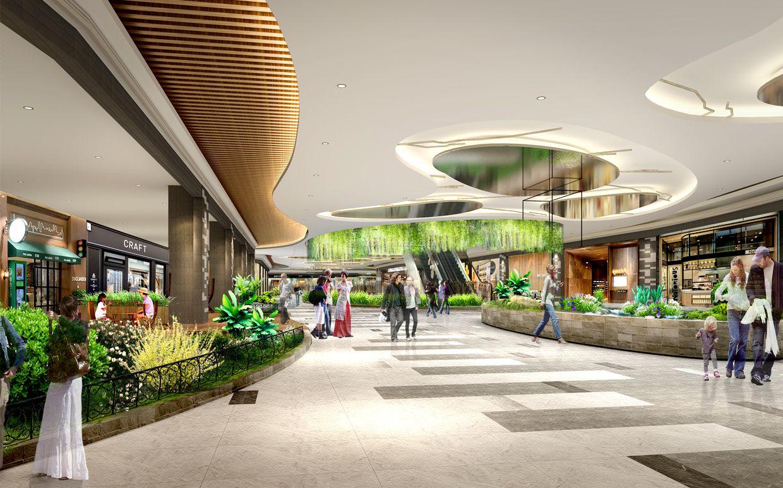 杭州 现代风格120000平米设计方案 2018时尚商场装修效果图