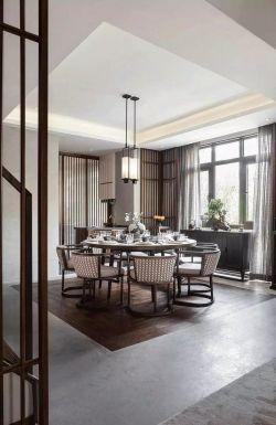 2018中式別墅豪宅餐廳設計大全