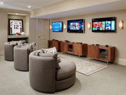 300平米笔画娱乐休闲室价格别墅装修设计图的别墅瓷砖黑石大图片